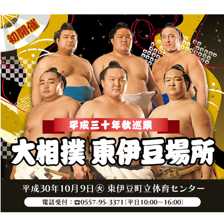 大相撲東伊豆場所